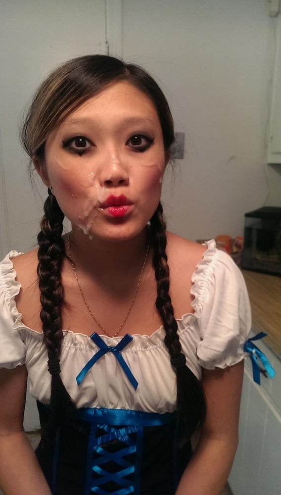 #facial #pigtails #eyecontact #nonnude LinkMedia in topic Cum Sluts by Osgrou