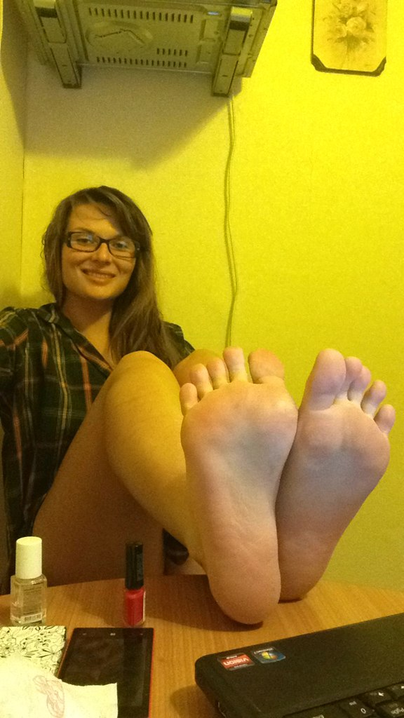 I'M IN LOVE NOW PLEASE MARRY ME-  Link in topic Foot Worship by Kamini