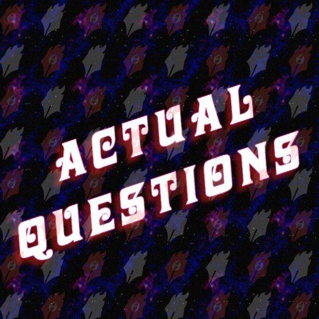 Actual Questions