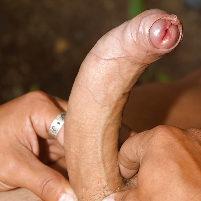 hard bent cock.. [show me yours]