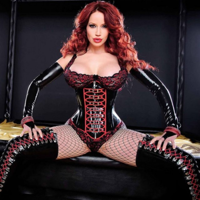 Women wearing Latex or Leather