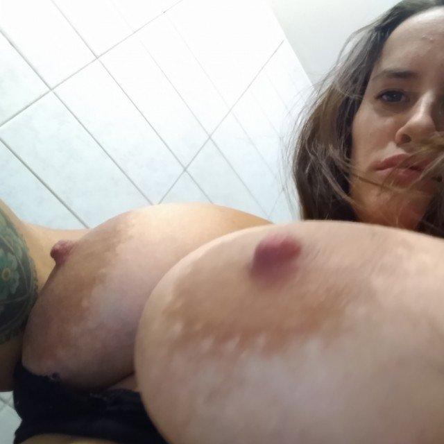 Huge Natural Nipples
