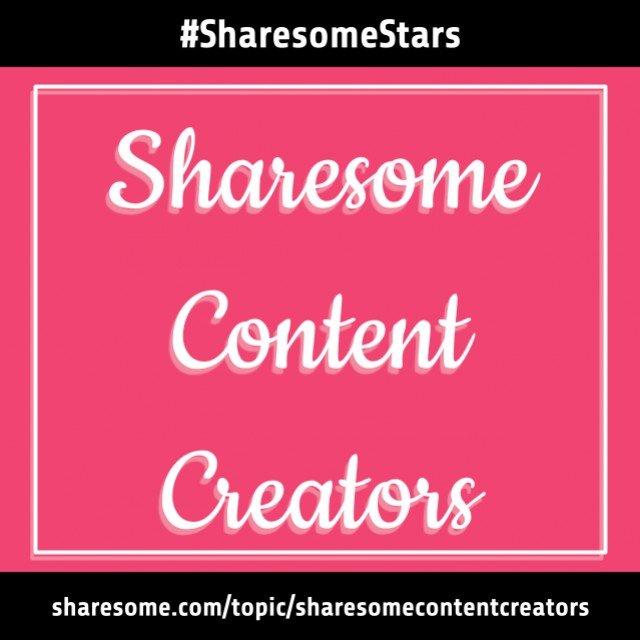 Sharesome Content Creators