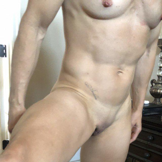Hot muscular woman