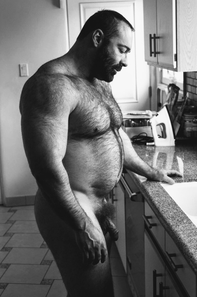 Muscle hairy men and hot hunks