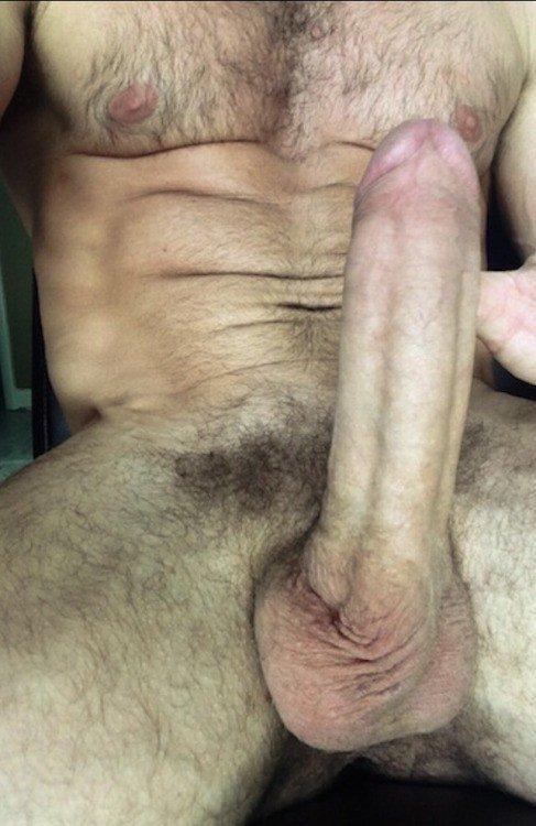 Big Hard Hairy Exhibitionist Cock