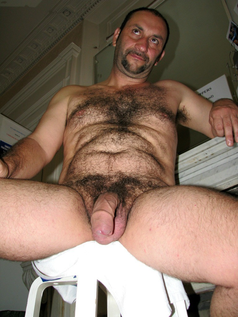Gay naked mature older hairy men