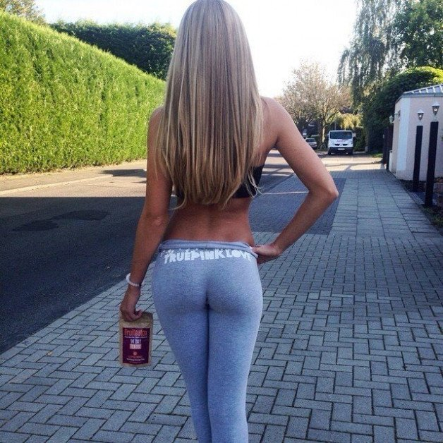 Photo in topic Yoga Pants, Ass, Creep Shots, Heels, Legs by WatchWifeFuck