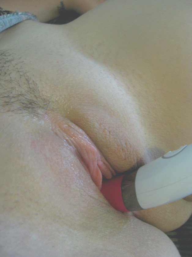 I love being fucked with vibrators. Or licked at the same...