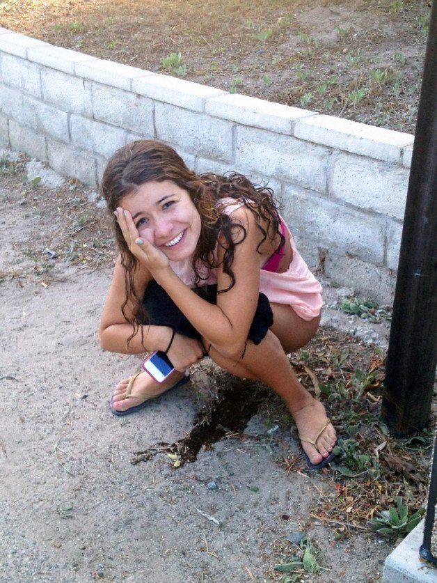 #caught  #peeing  #pissing-  Photo in topic Embarrassed Naked Female by potvora13