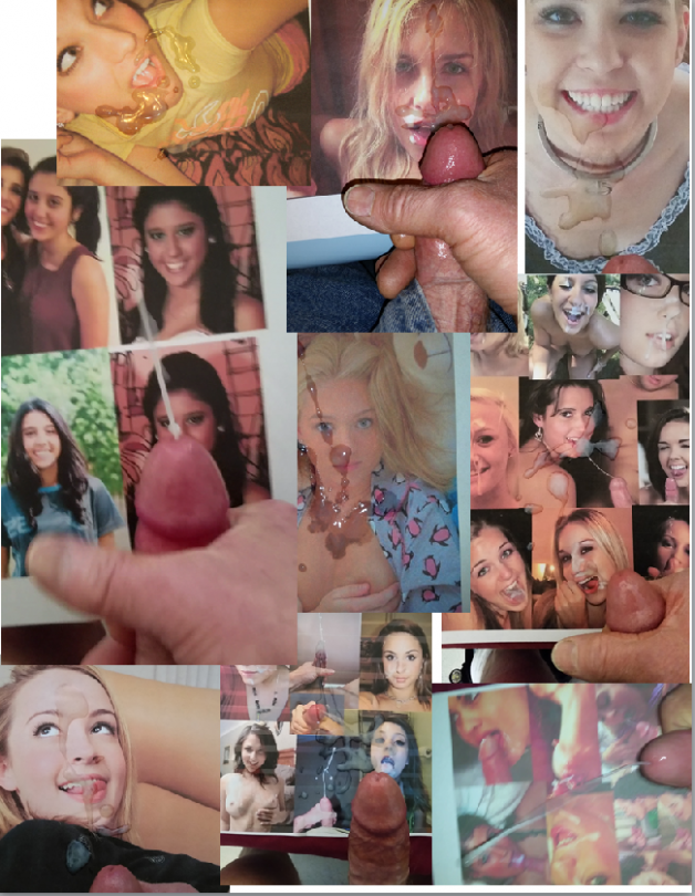 Another collage of cuties I've hosed.-  Photo in topic Cum tributes by jodaily