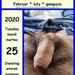 Post in topic Cocks with foreskin by foreskin calender