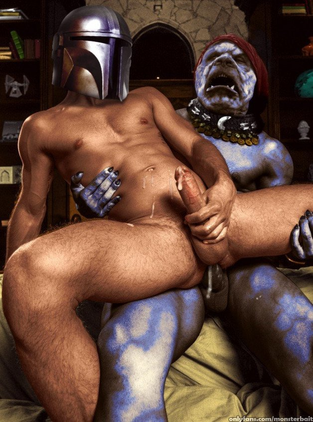 Mandolorian is filled with force today after a hot...
