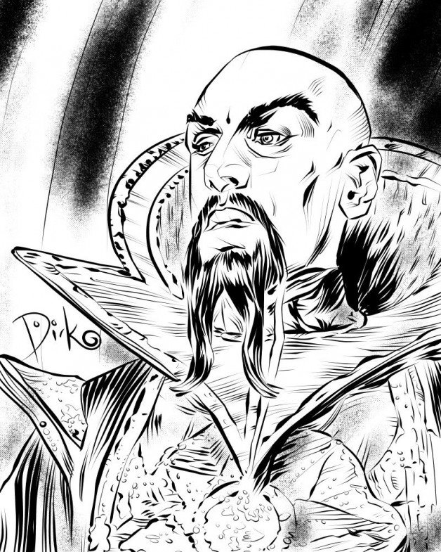 "New! ""Ming the Merciless"" Midnight Portrait  by Dirk Hooper ..."