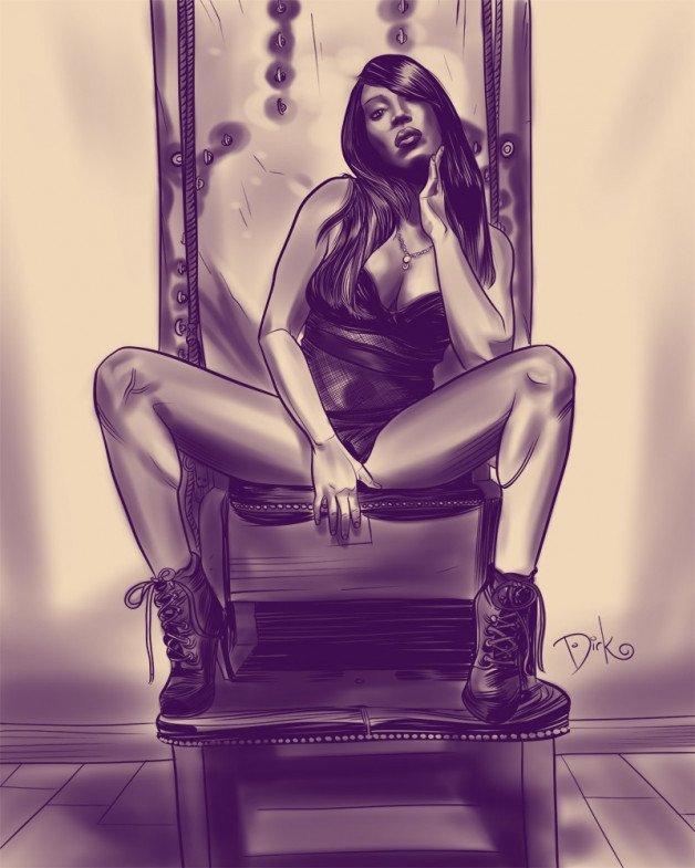 Post in topic BDSM Fetish Femdom Girl by Dirk Hooper