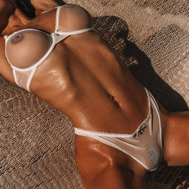 oh Lord! #seethrough #sexylingerie #pussy #awesomeboobs...