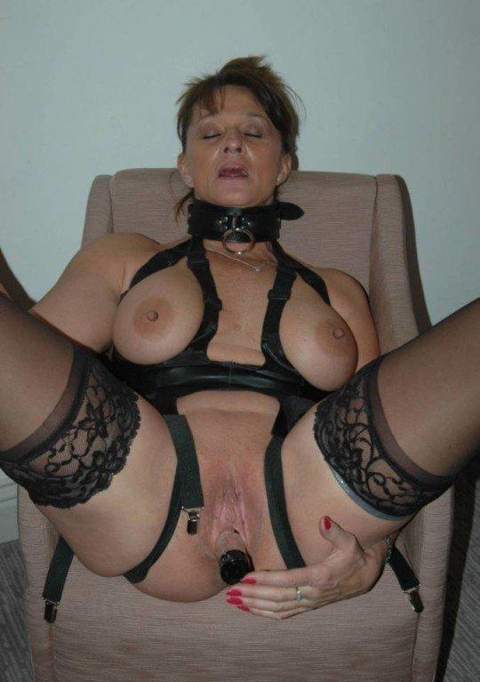 Crazy Sexy Mature Lingerie Nude Photos