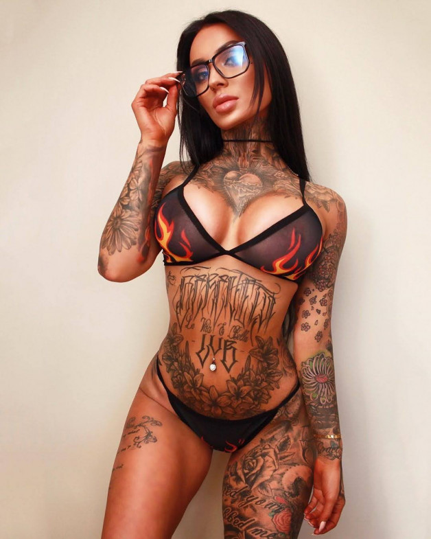Photo in topic Hot Tattoos Girls by Damusia
