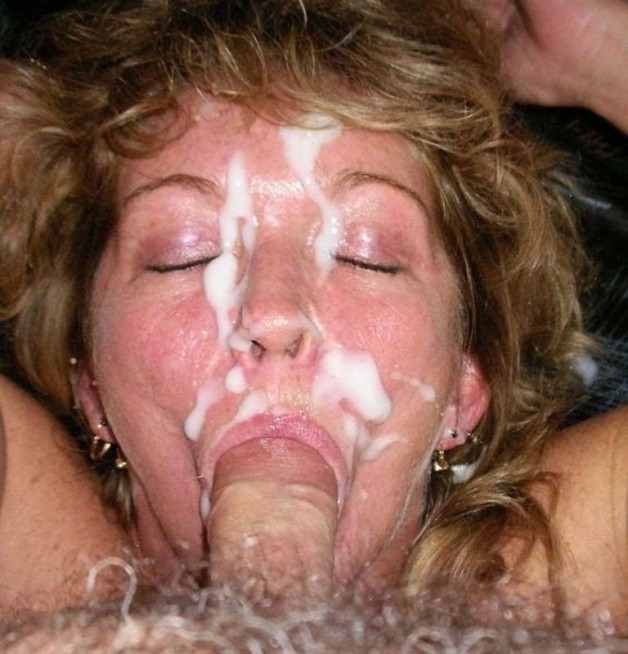 That´s fine - back into her mouth!-  Photo in topic Facial Cumshot by Antti2