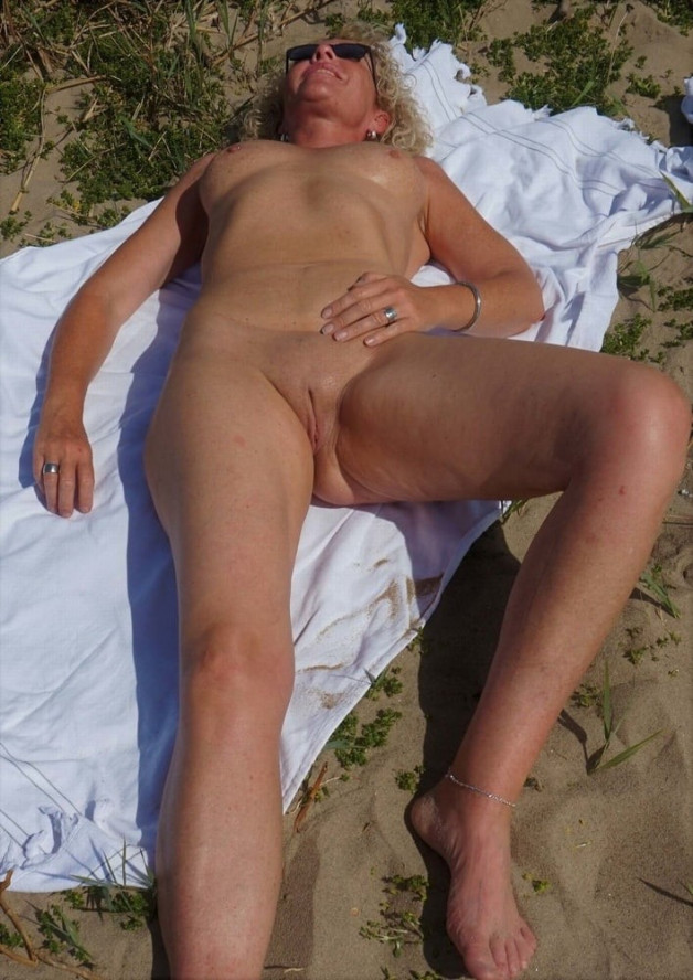 sunbathing-  Photo in topic Milf world by Antti2