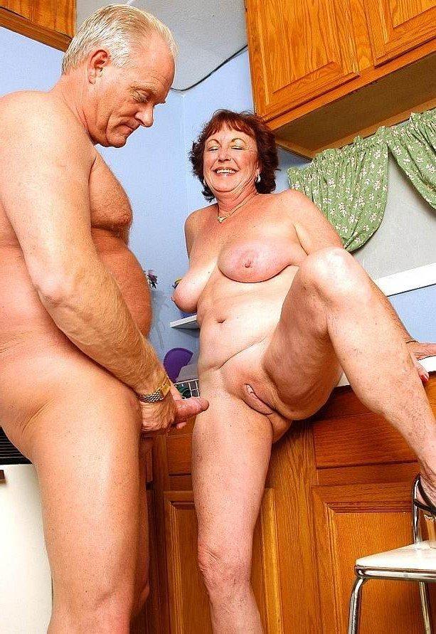 Older woman younger men