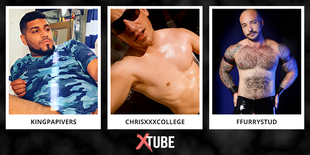 Check out these fine manly specimens on Xtube!...