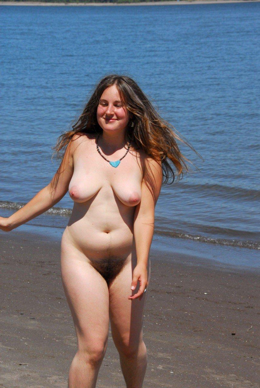 Chubby Girl Nude Public