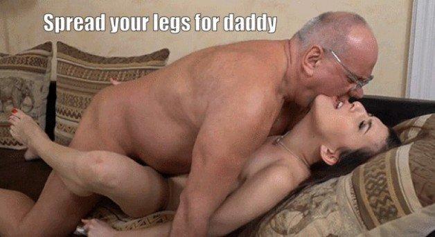 Girl old man porn gif