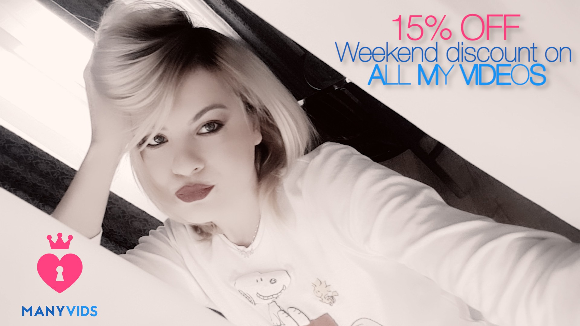 15% OFF WEEKEND DISCOUNT ON ALL MY VIDEOS!!!...