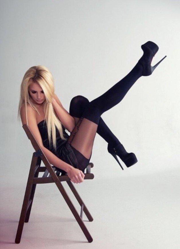 Photo in topic Platform Heels! by steelydan7