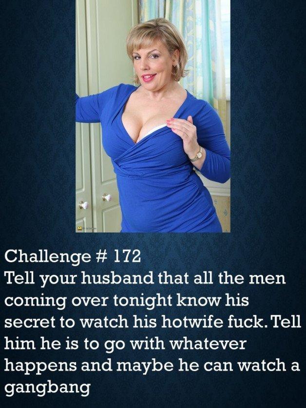 hotwife challenge caption » Hottest posts | Sharesome