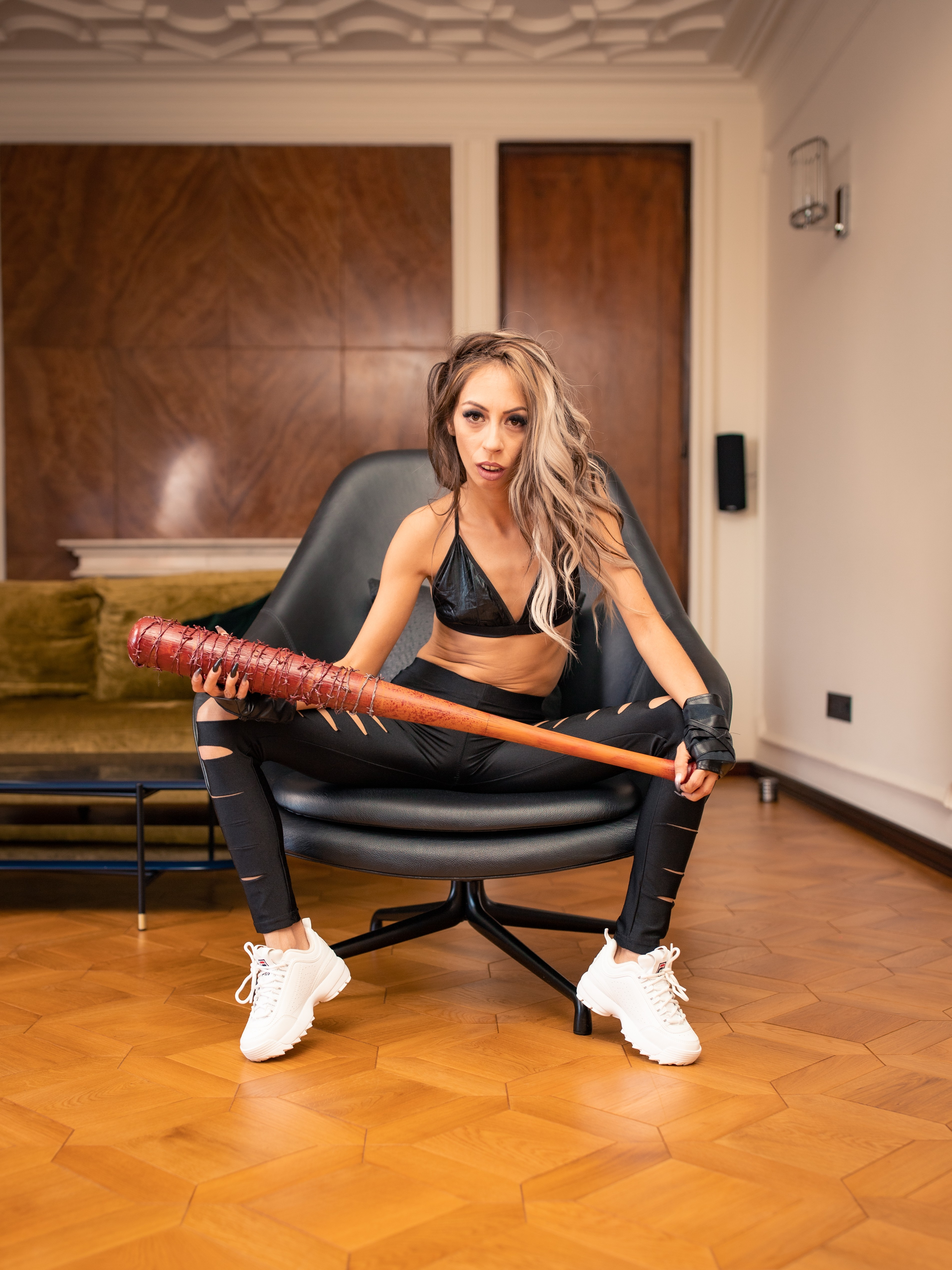 Who was bad ??? #question #blonde #sexy #skinny #bdsm-  Photo in topic Sharesome Hot Chicks by CandieCross