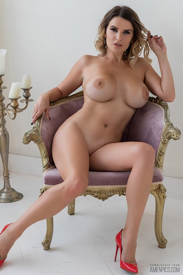 Sharona is back and she's pretty confident showing us her...