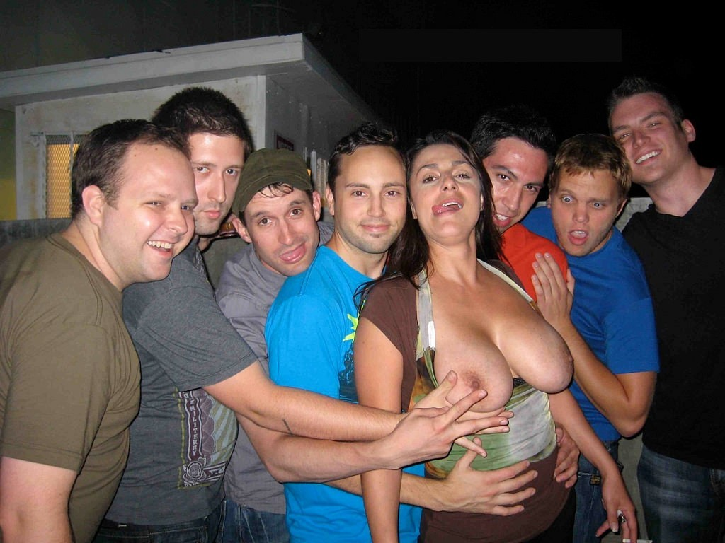 Large Breast Grope