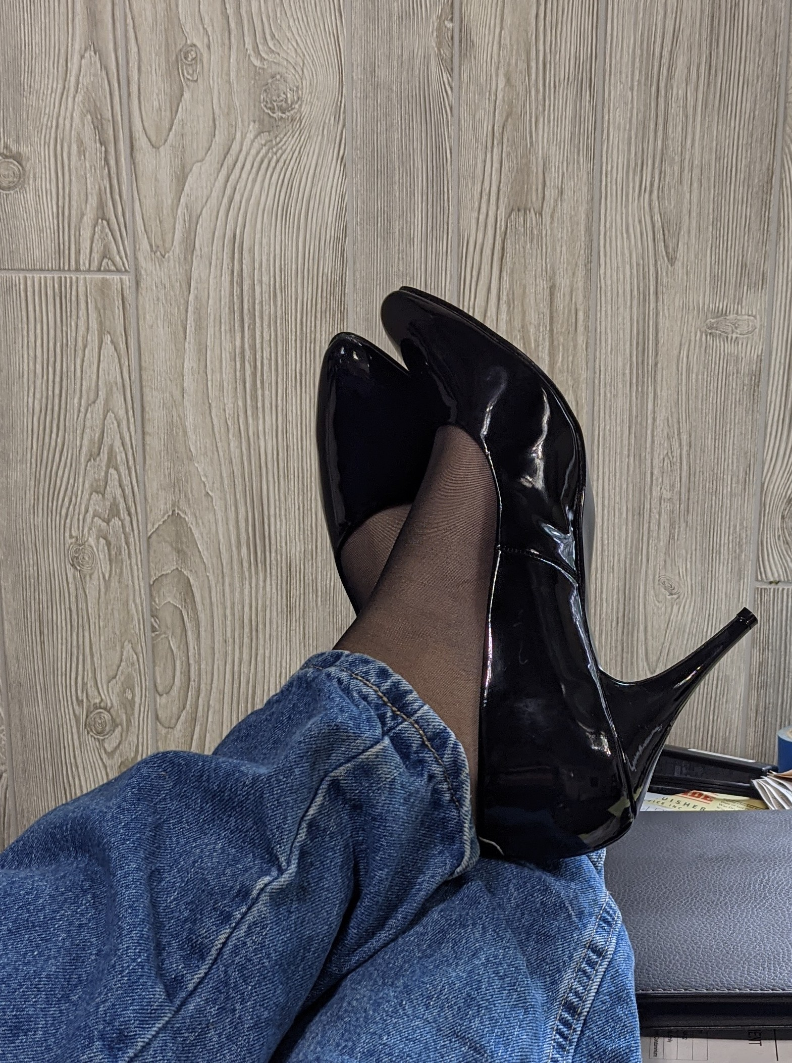 Office day today.-  Photo in topic Crossdressing by Mistressladyfriend