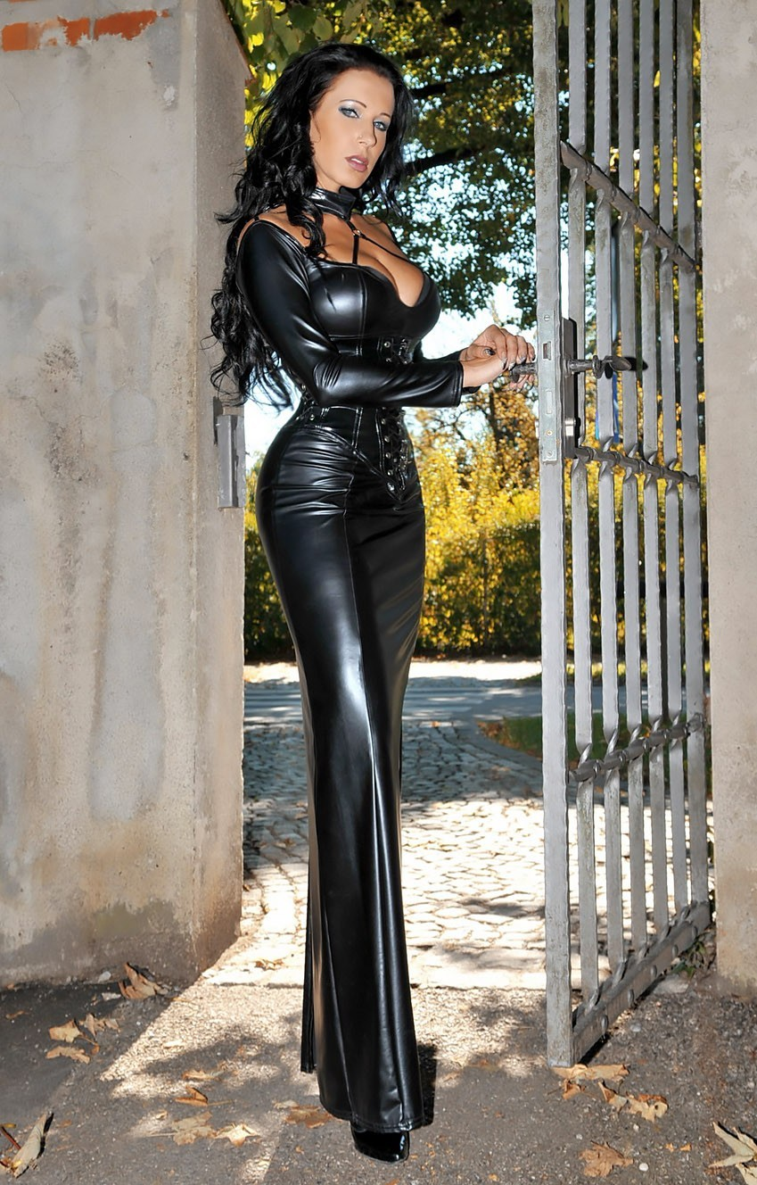 Danica in opaque leggings and black leather boots danica in opaque leggings and black leather boots just danica collins