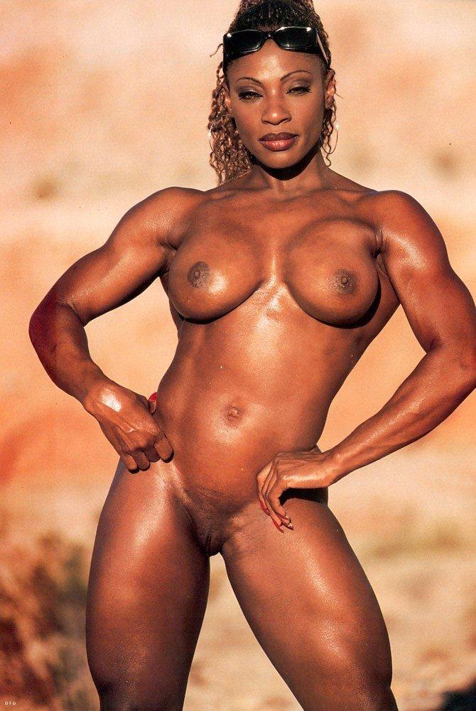 Muscle black females
