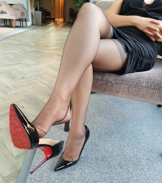 #Louboutin-  Photo in topic Girls with High Heels by MarkMess