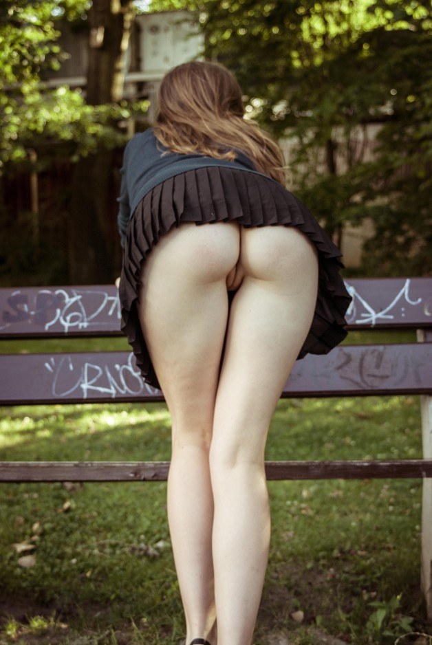 Schoolgirl in a Park-  Photo in topic Teen by cumtargets