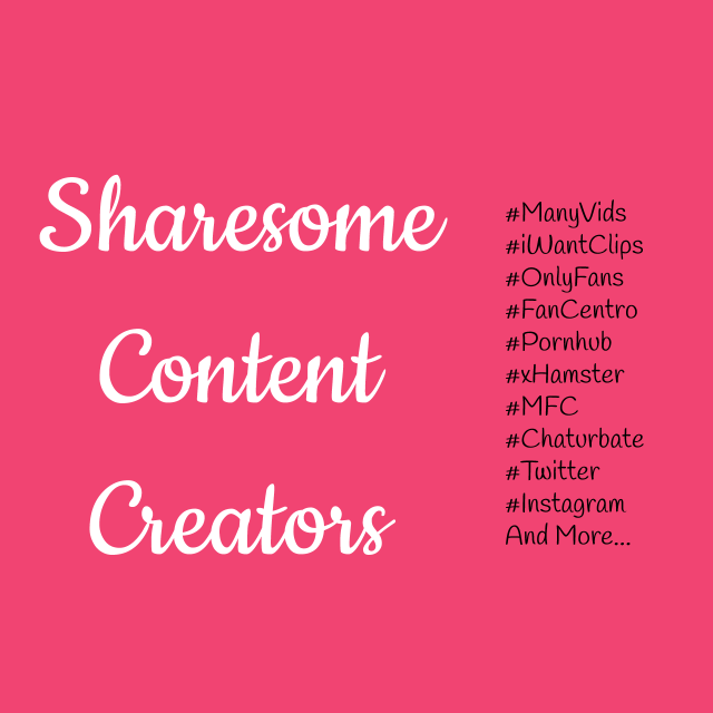 Welcome to Sharesome Content Creators  Sharesome Content...