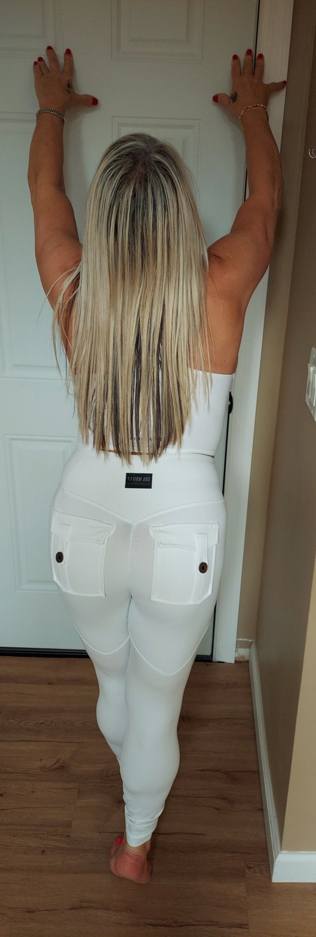 Rear quarters-  Photo in topic Love Her In Leggings by Naughty Lady  Again