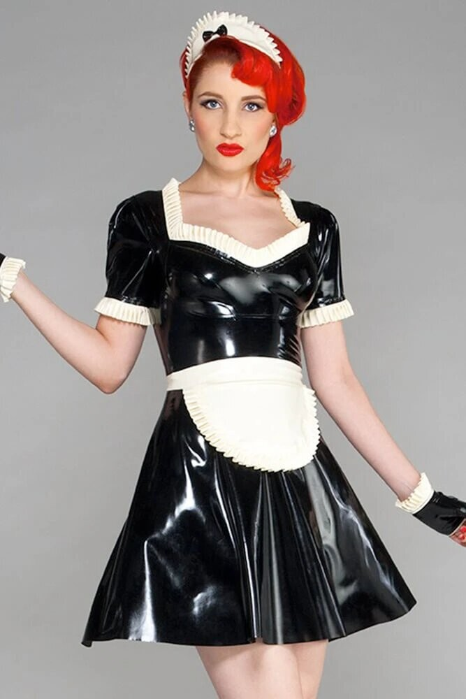#Cosplay #Latex #Maid #FrenchMaid #Glamour #Redhead-  Post in topic Cosplay Cuties by JBT Feminine