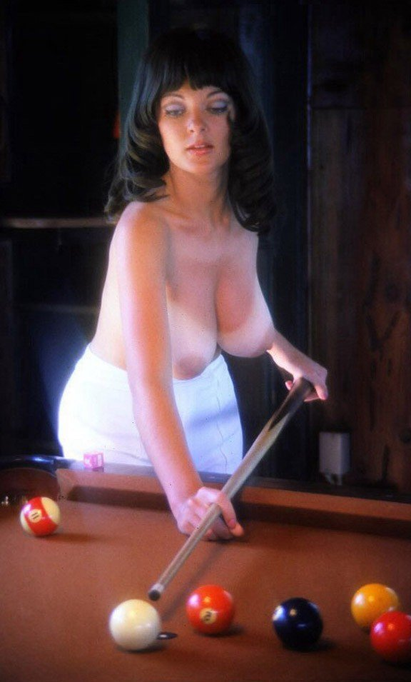"""Playing strip pool is a lot more fun than I had imagined!..."