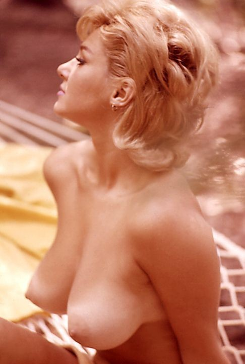 Playmate of the Month March 1963 - Adrienne Moreau...