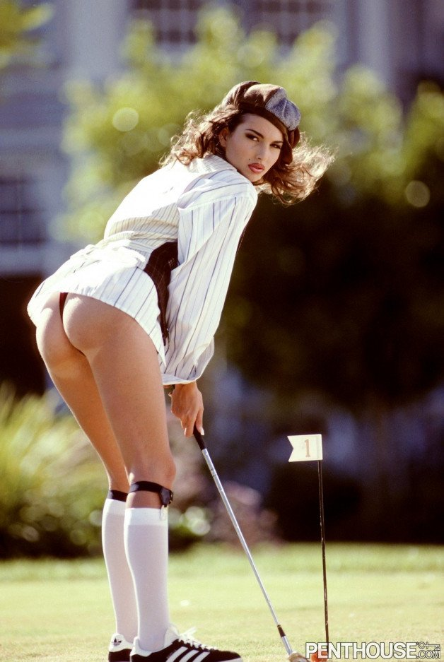 """""""I'm going for the hole...""""  #greatass #pinup..."""