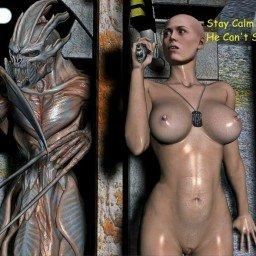 #Alien #Ripley #Monster #3d #Pin-up Hot Ripley Feeling  A...