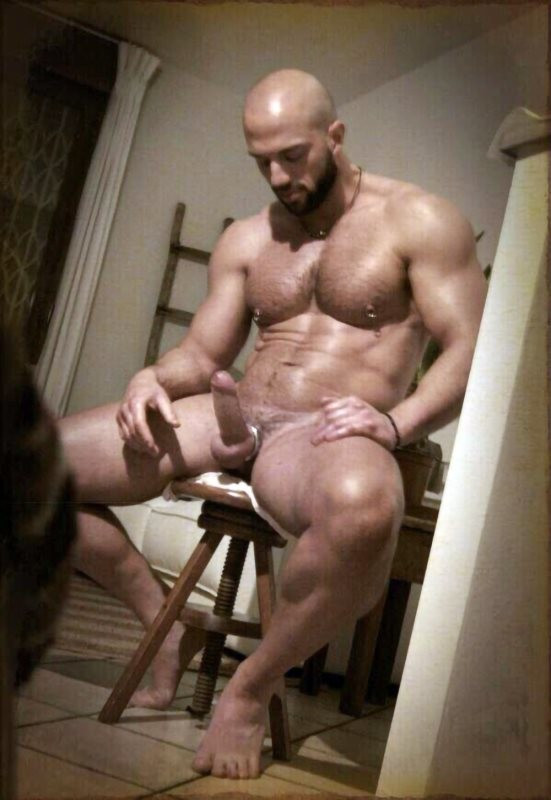 North Pole #gay #muscle #cock #balls #shaved #nipples...