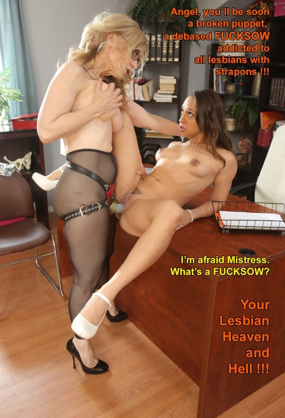 Post in topic Lesbian Strapon by spankingandthings