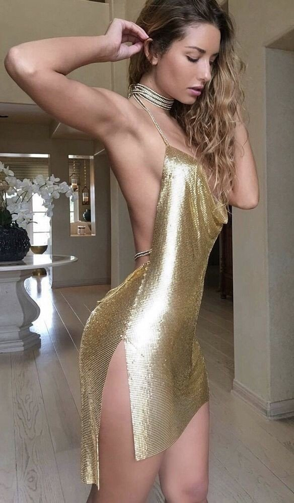 Golden girl-  Photo in topic tightdresses by Tiger7971