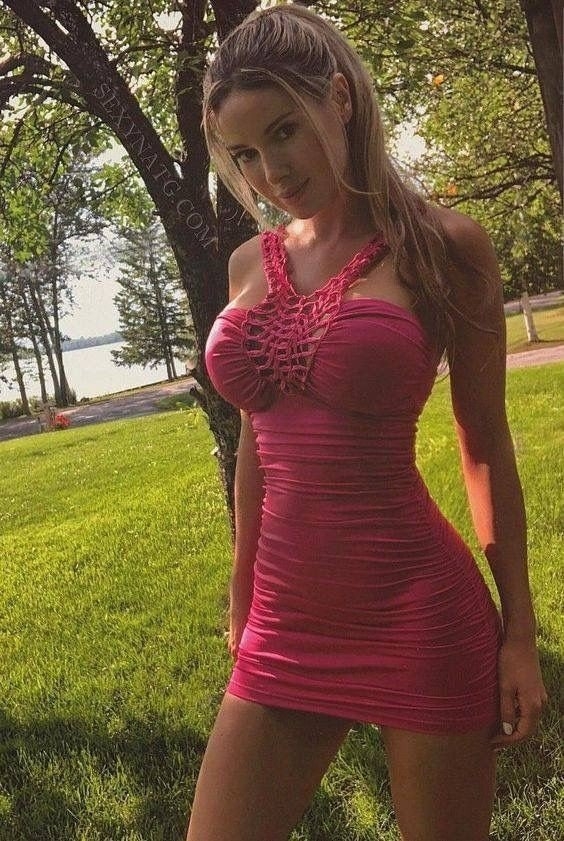 Hot Pink very sexy-  Photo in topic tightdresses by Tiger7971